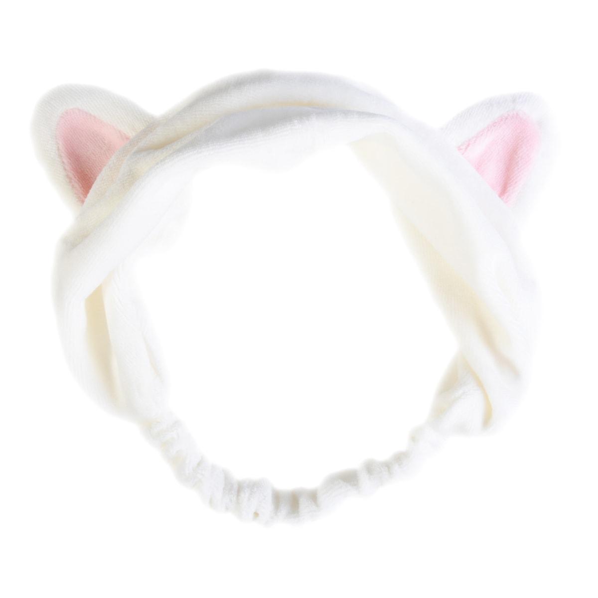 韩国ETUDE HOUSE伊蒂之屋(爱丽小屋) 可爱猫耳朵发带 白色 1件入