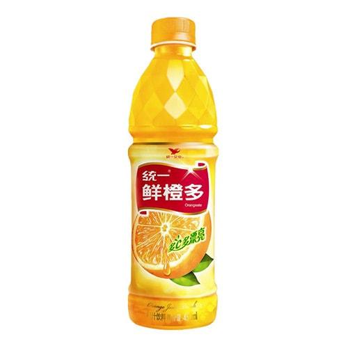 统一 多C多漂亮 鲜橙多 450ml