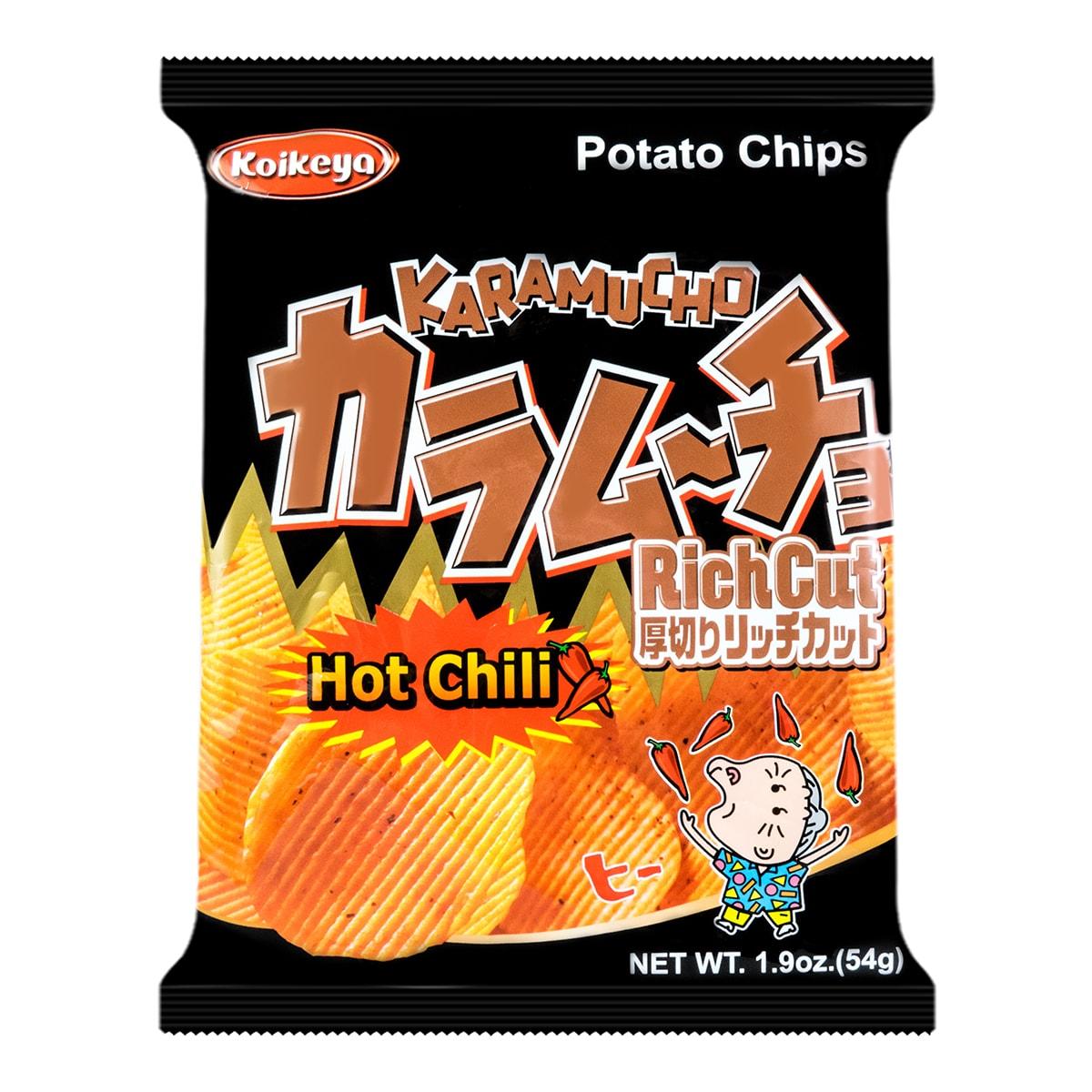 KOIKEYA Rich Cut Chili Chips 54g