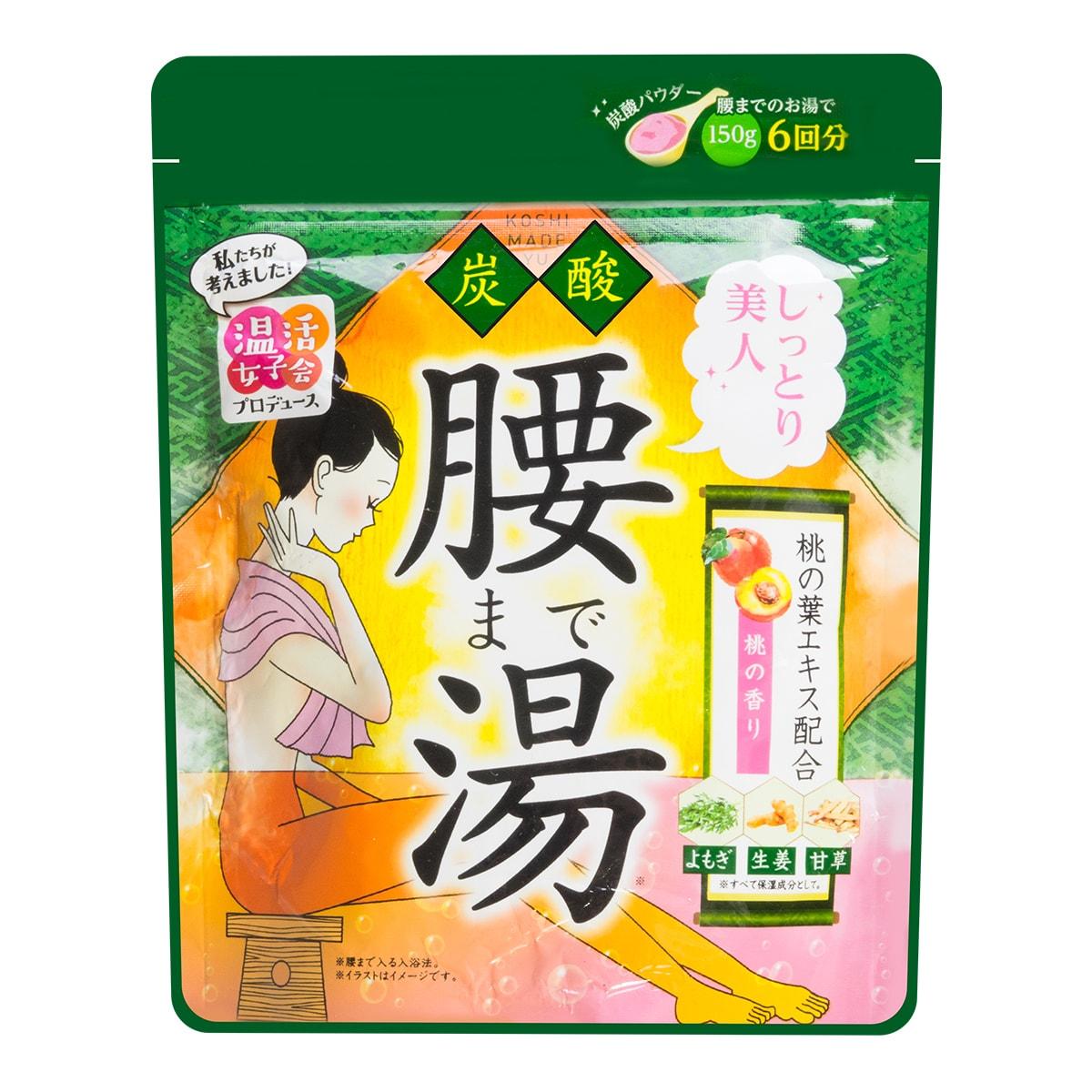 日本GRAPHICO 温活女子会 碳酸半身入浴剂 #桃子味 150g