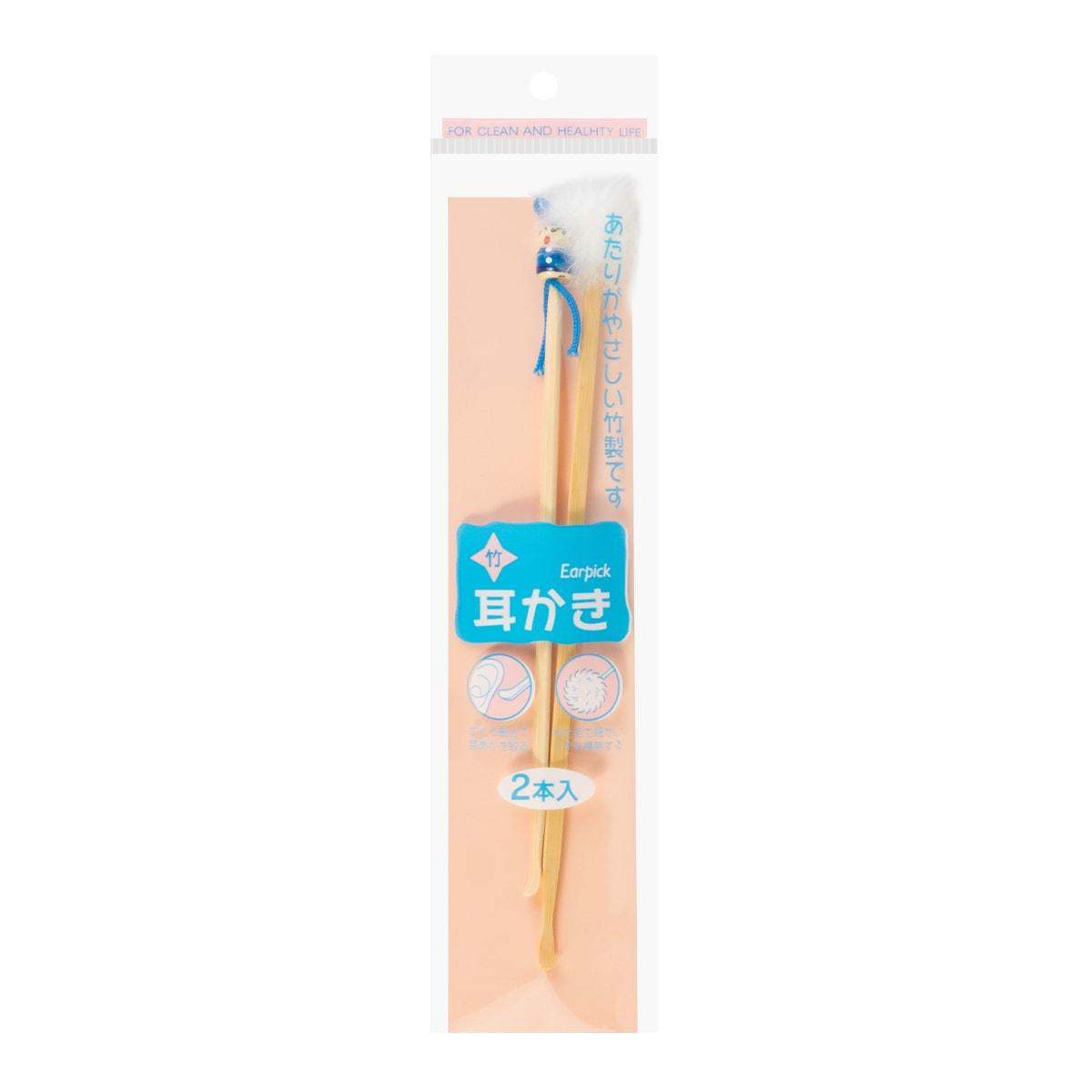 可爱造型竹子清洁挖耳勺 2件入