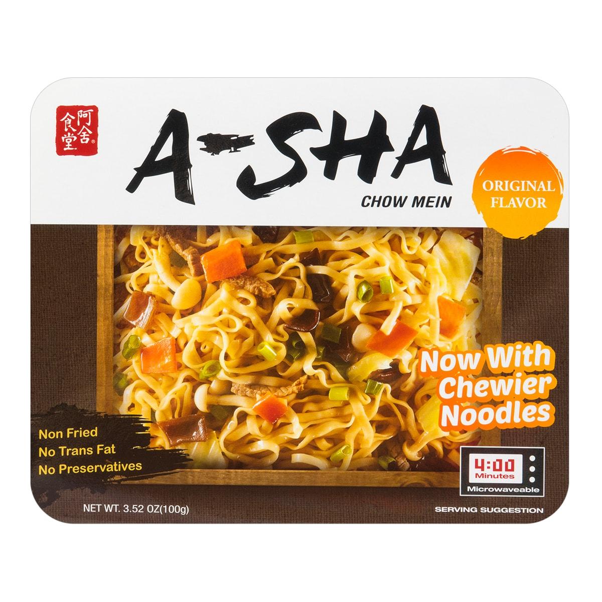 A SHA Dried Noodles Original Flavor 100g