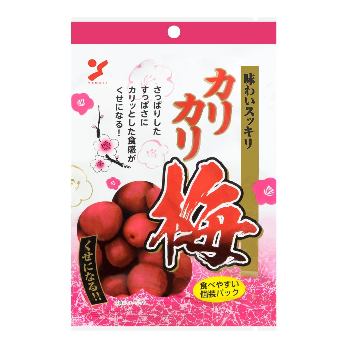 日本YAMAEI 天然采摘日本梅子 60g