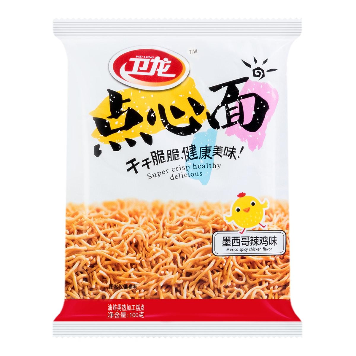 WEILONG Noodle Snack Mexico Spicy Chicken Flavor 100g