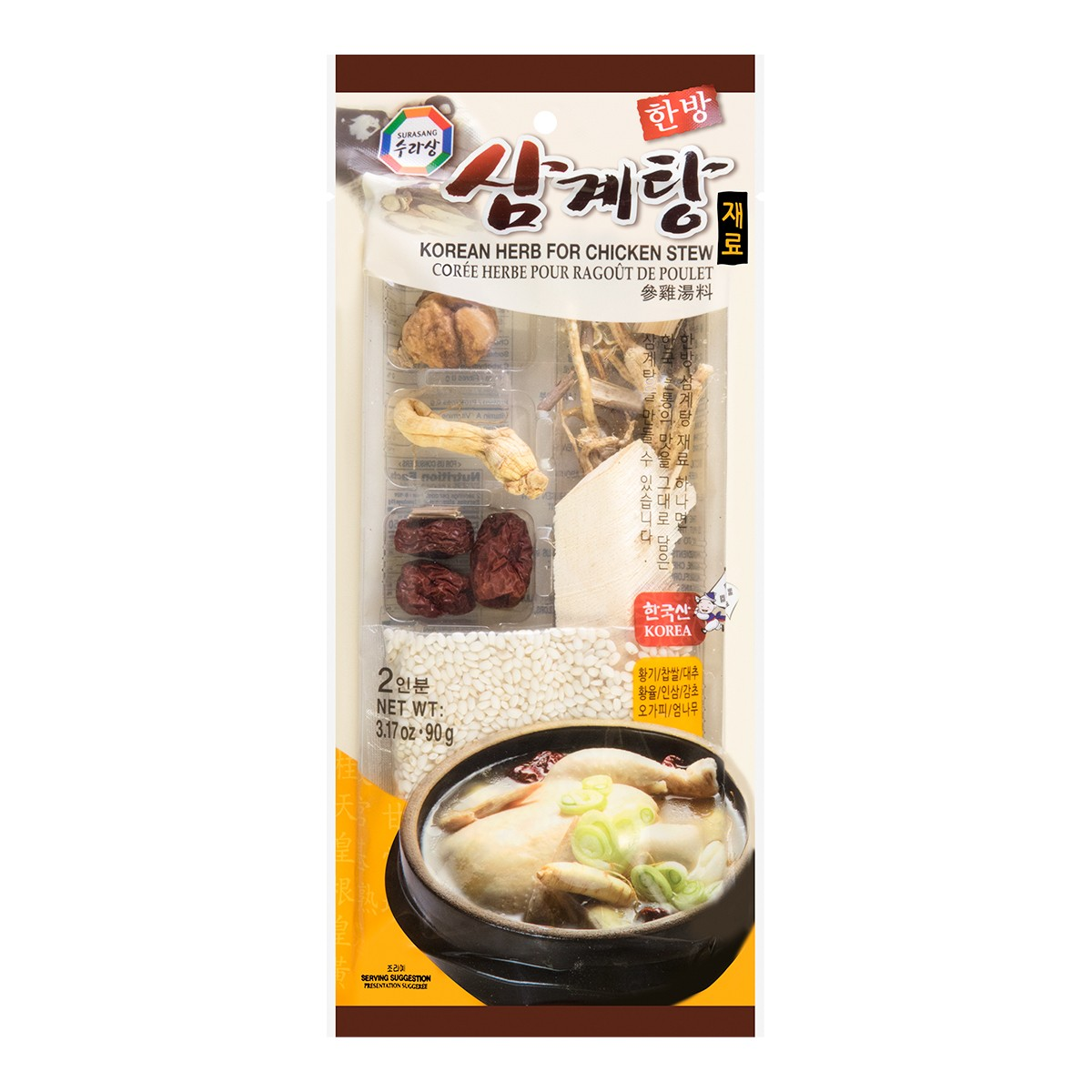 SURASANG Korean Herb For Chicken Stew 90g