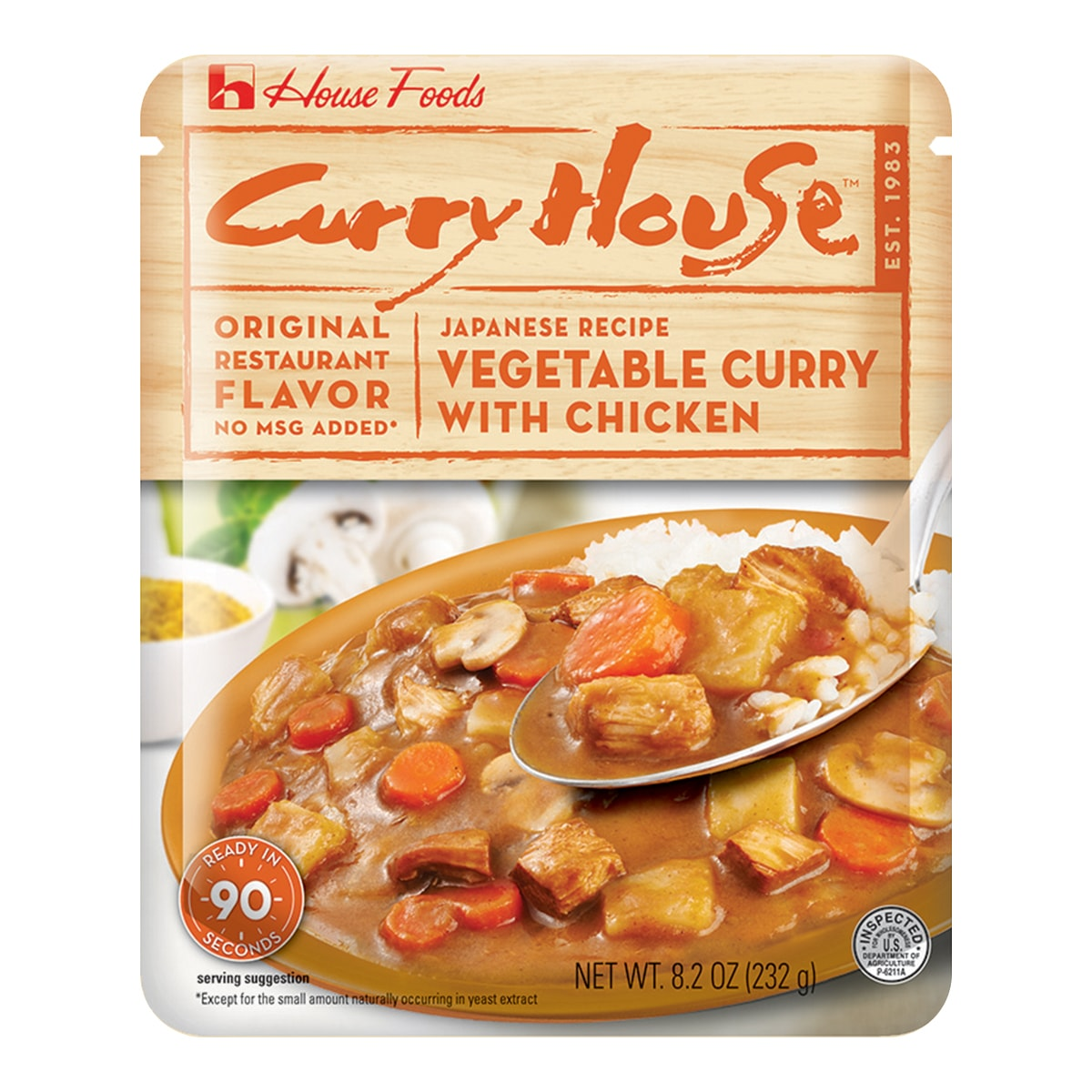 Curry House Retort Chicken 232g
