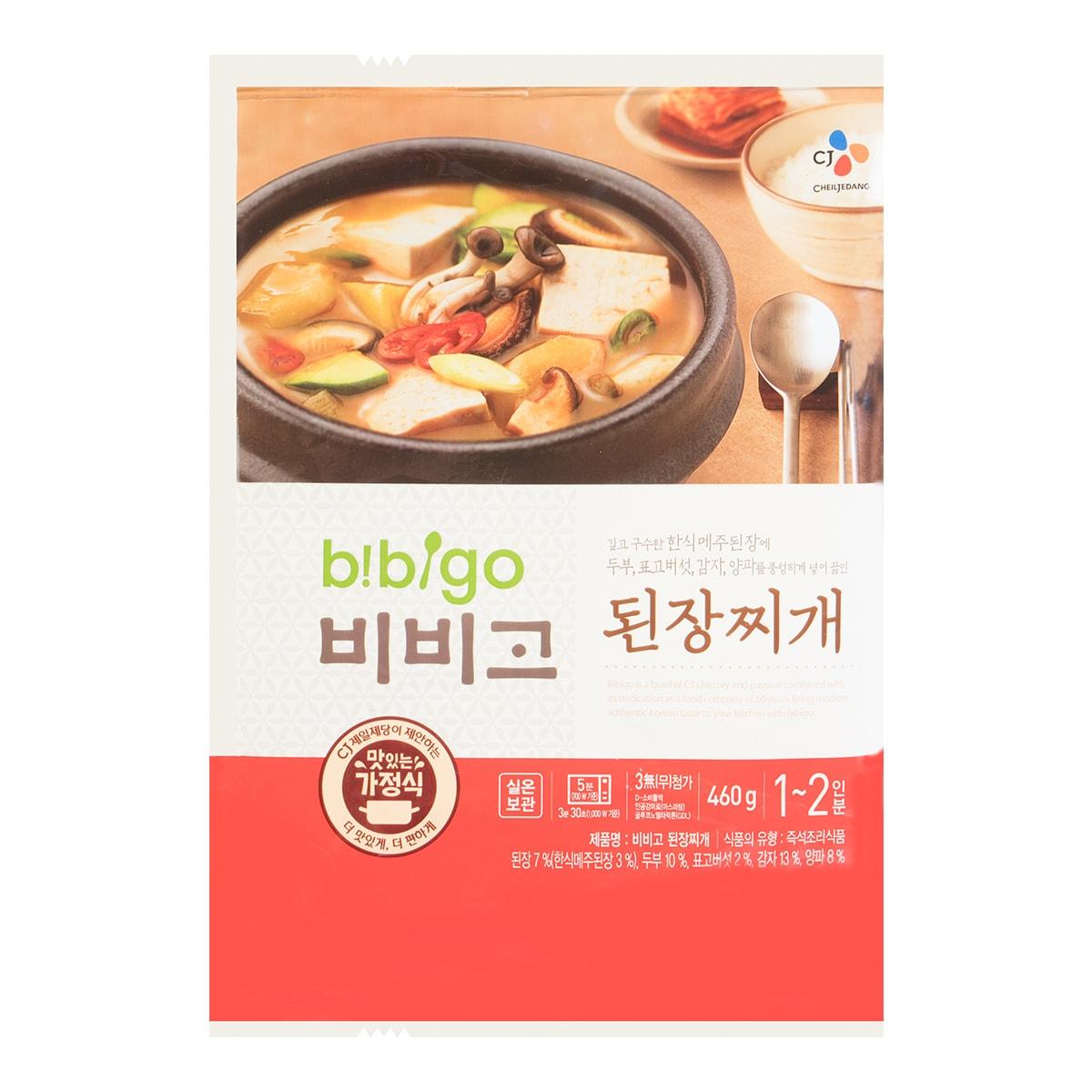 韩国CJ希杰 韩式大酱豆腐汤 460g