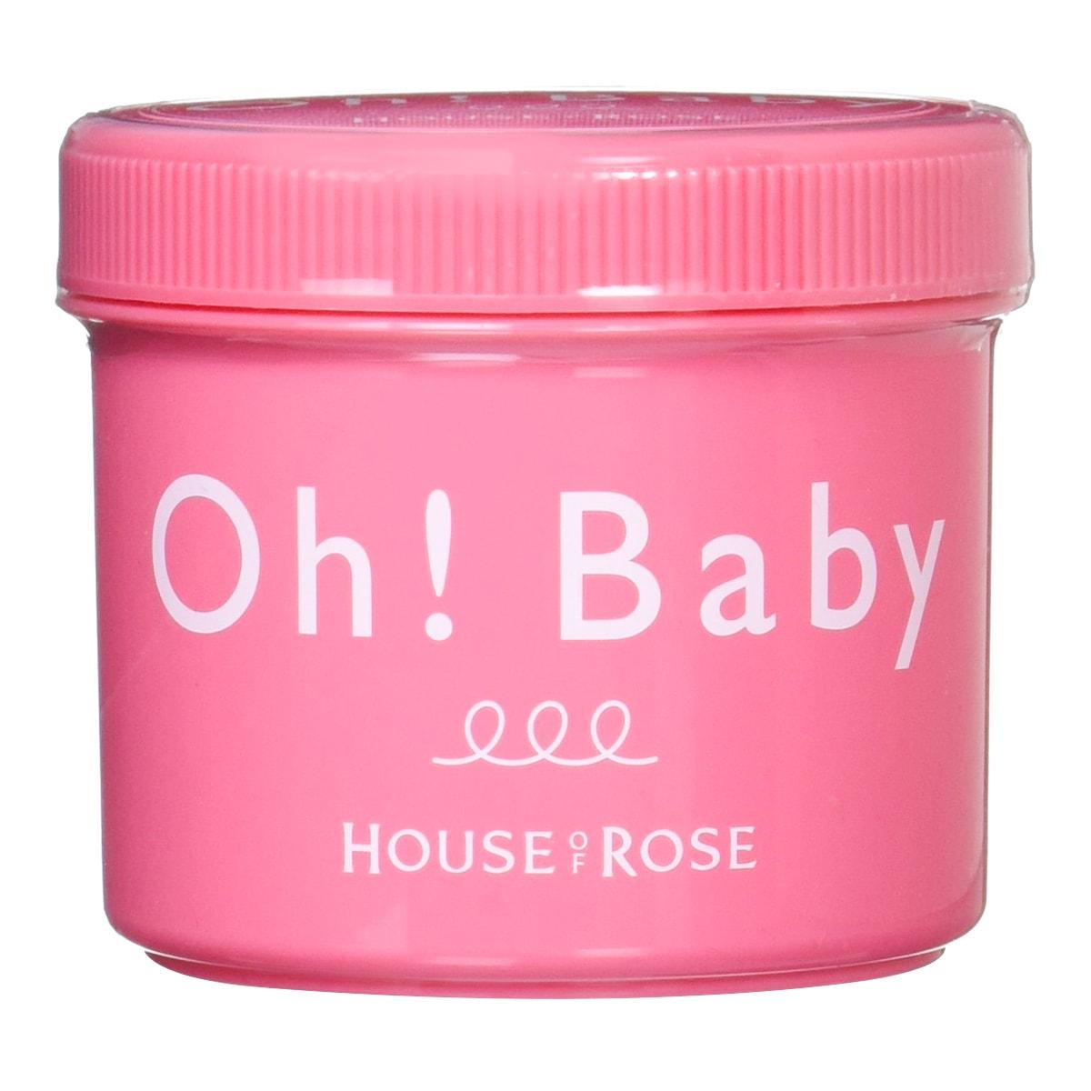 日本HOUSE OF ROSE OH!BABY 身体去角质磨砂膏 570g