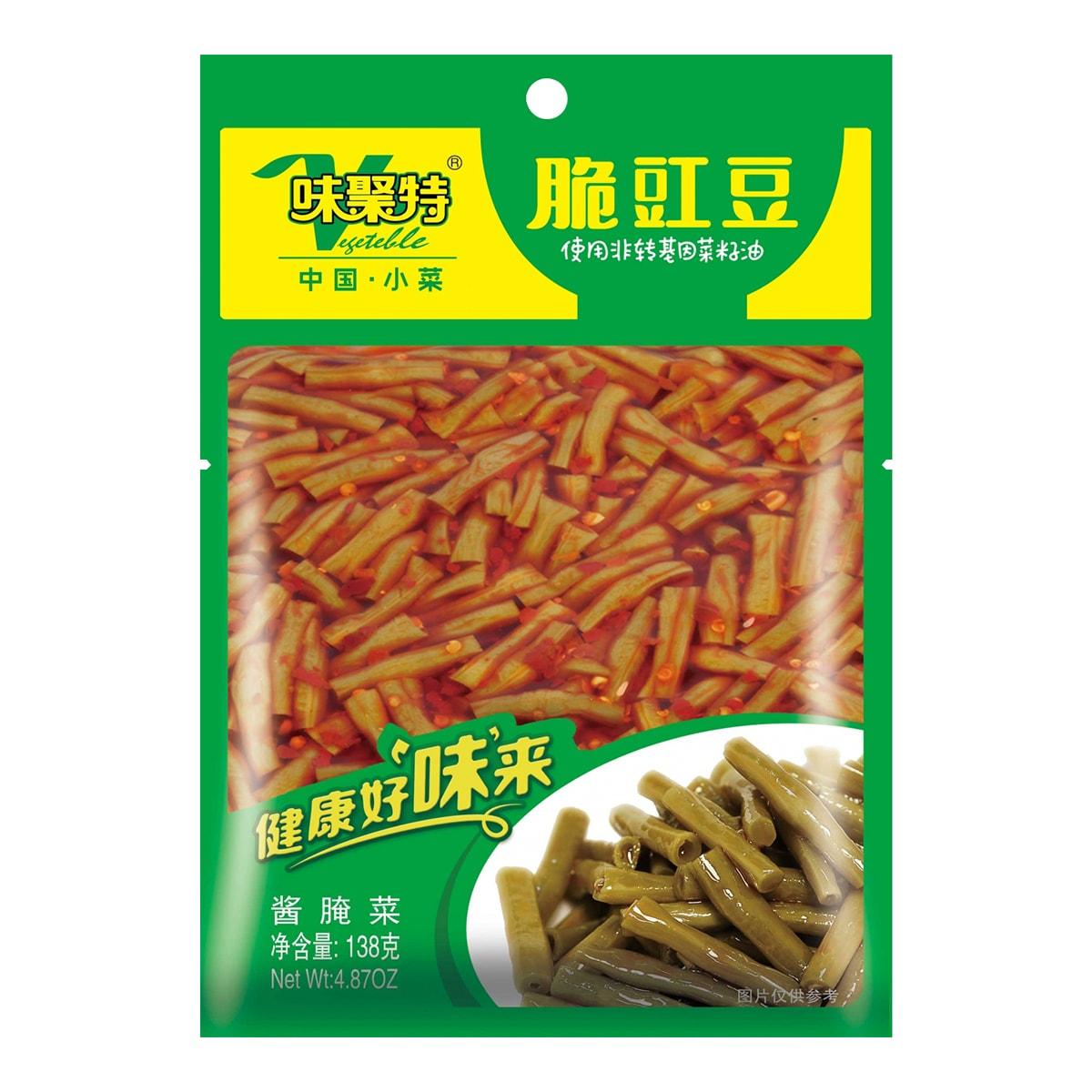 四川味聚特  脆豇豆 138g