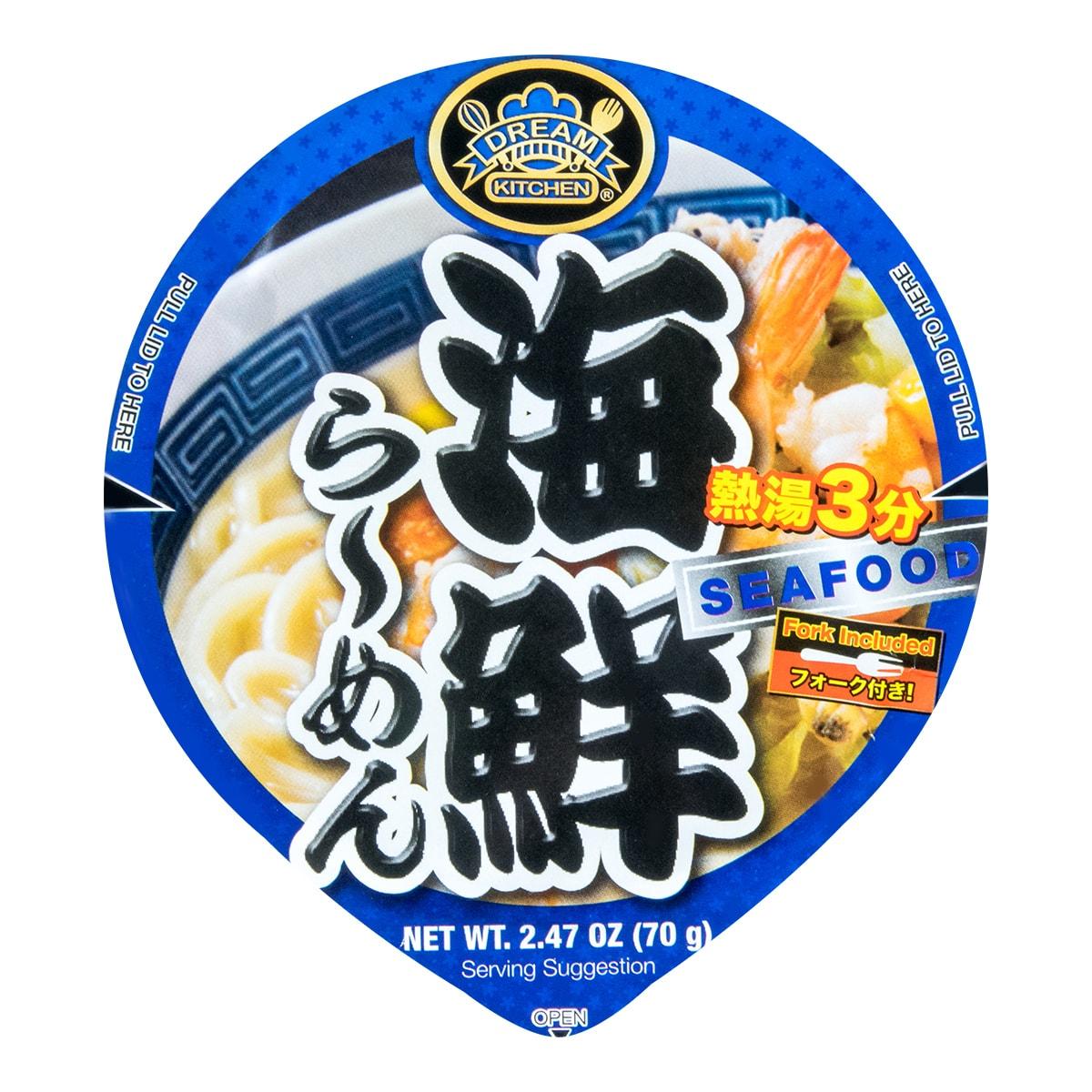 DREAM KITCHEN Seafood Cup Noodles 70g