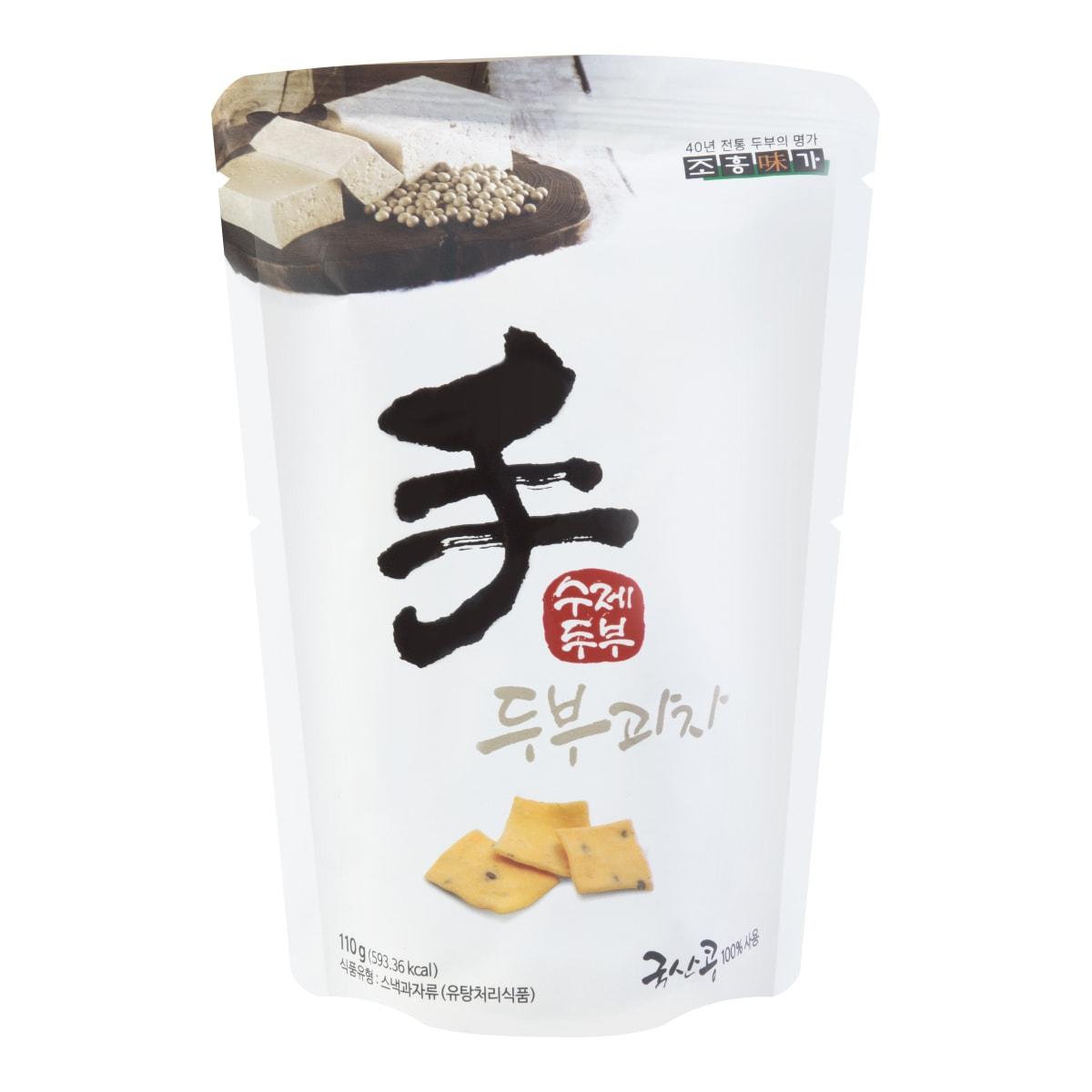【清仓】韩国JAYONE 手制豆腐饼干 原味 110g