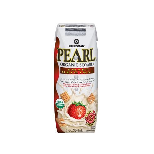 日本KIKKOMAN万字牌 PEARL有机高钙豆奶 原味 240ml USDA认证