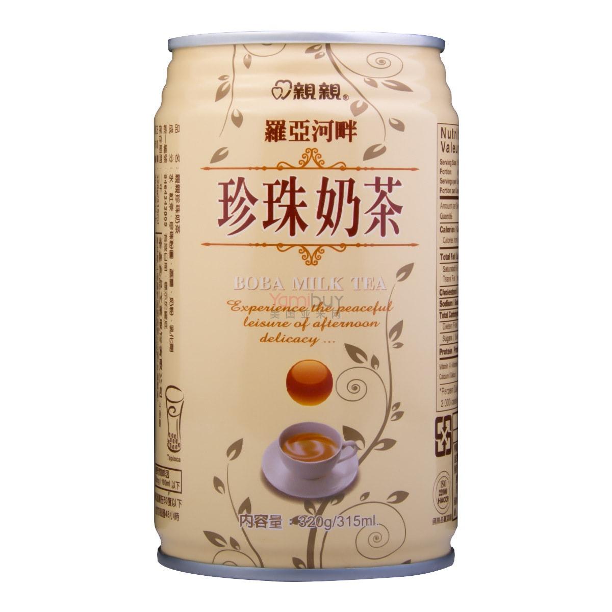 台湾亲亲 罗亚河畔 珍珠奶茶 315ml