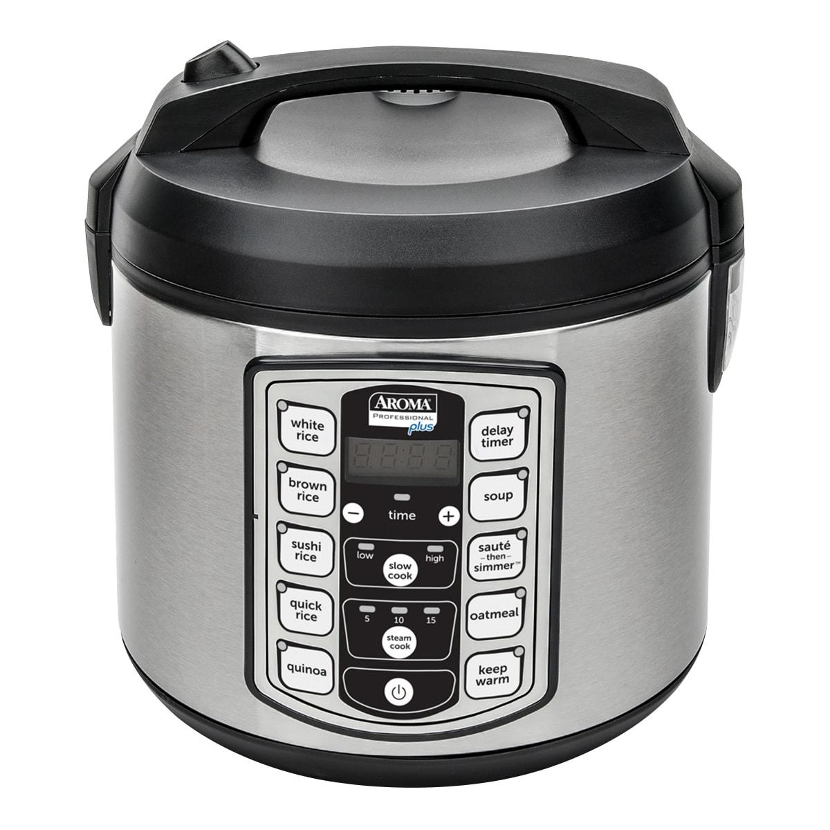 美国AROMA  多功能全智能电饭煲 20杯熟米容量/10杯生米容量 ARC-5000SB (5年制造商保修)