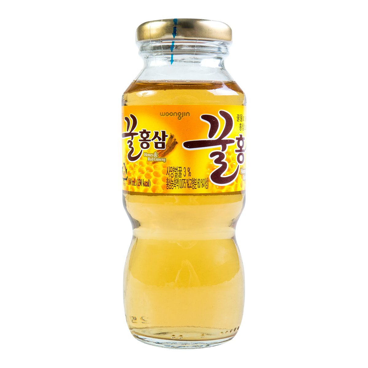 Woongjin Foods Honey & Red Ginseng Beverage 180ml
