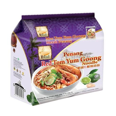 马来西亚MYKUALI 槟城红酸辣汤面 4包入