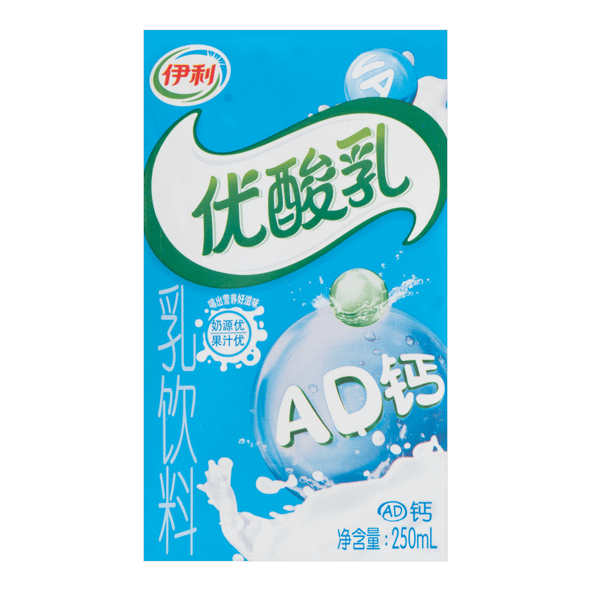 Yili A&D Yogurt  250ml