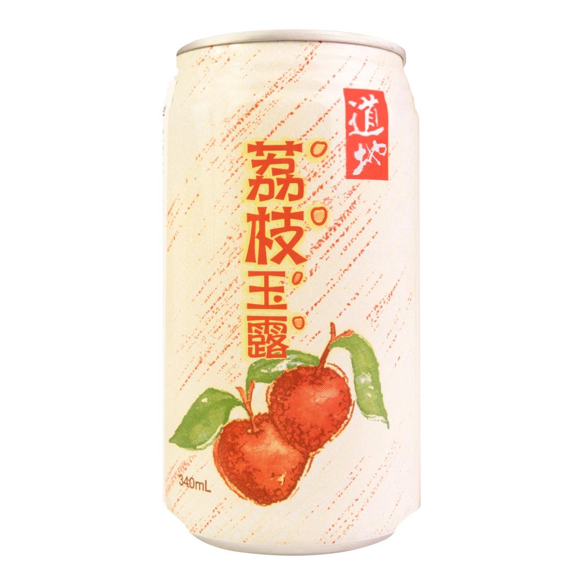 Tao Ti Taiwanese Lychee Juice Drink 340ml