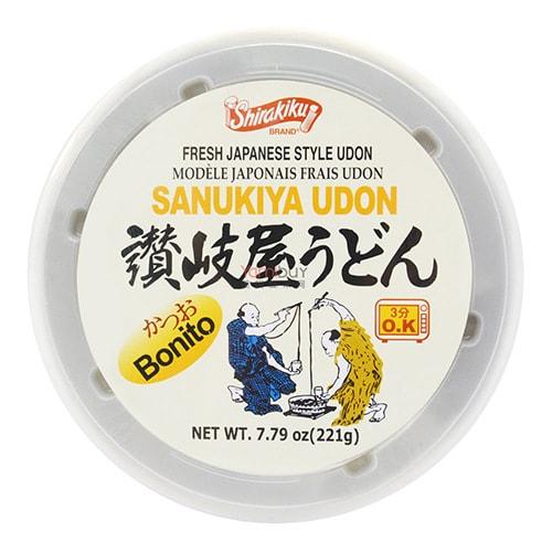 日本SHIRAKIKU赞岐屋 日式乌冬面碗面 鲣鱼味 221g