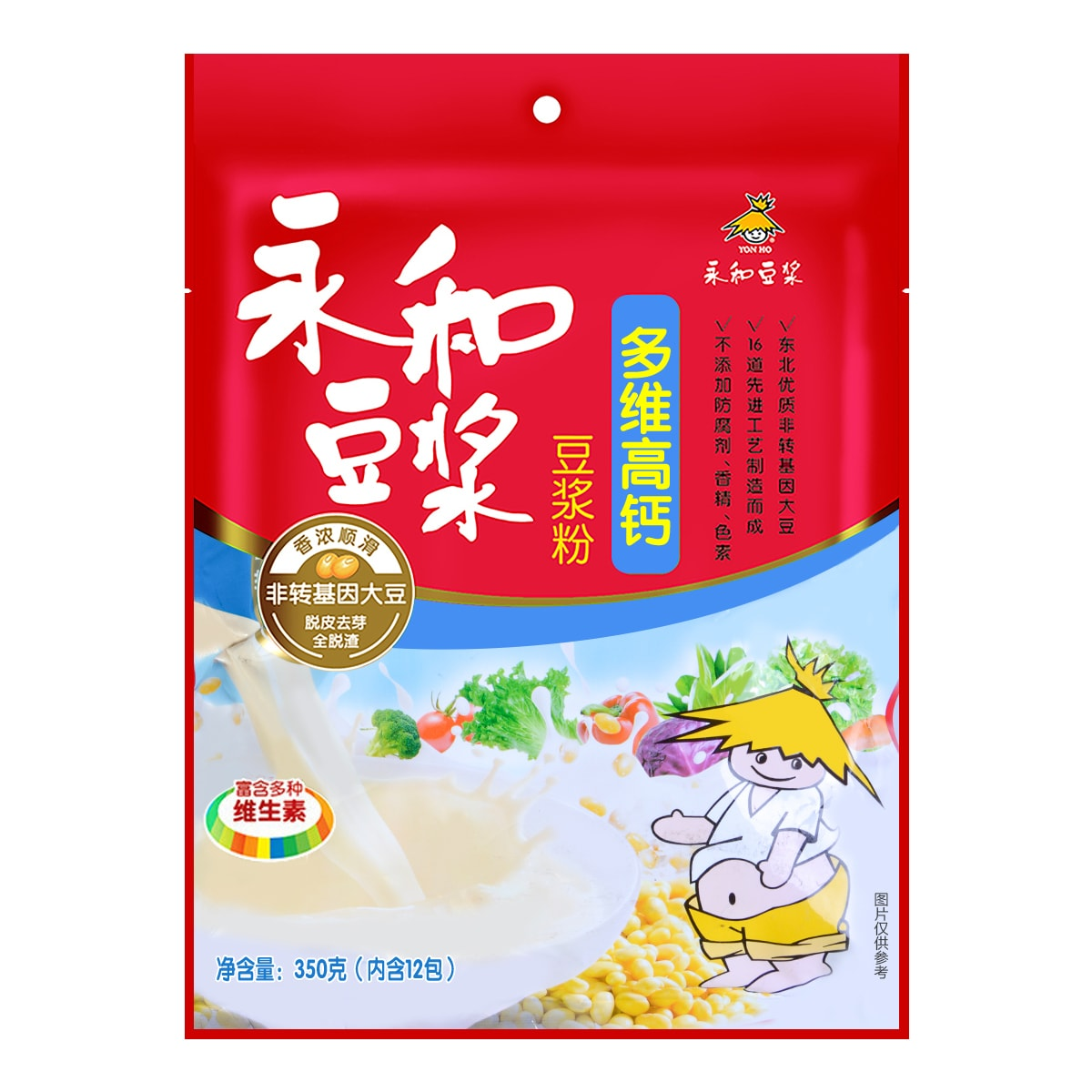 YON HO Soybean Powder with Vitamin 350g