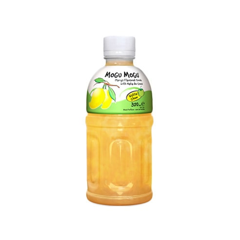 MOGU MOGU Mango Flavored Drink With Nata De COCO 320ml