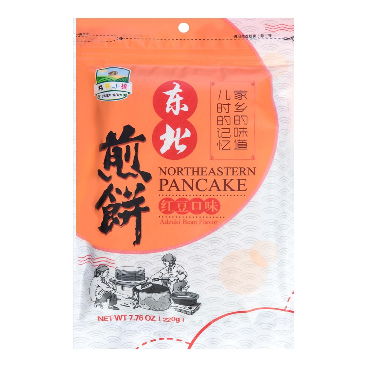 GreenTown Northeastern Pancake Red Bean Flavor 220g