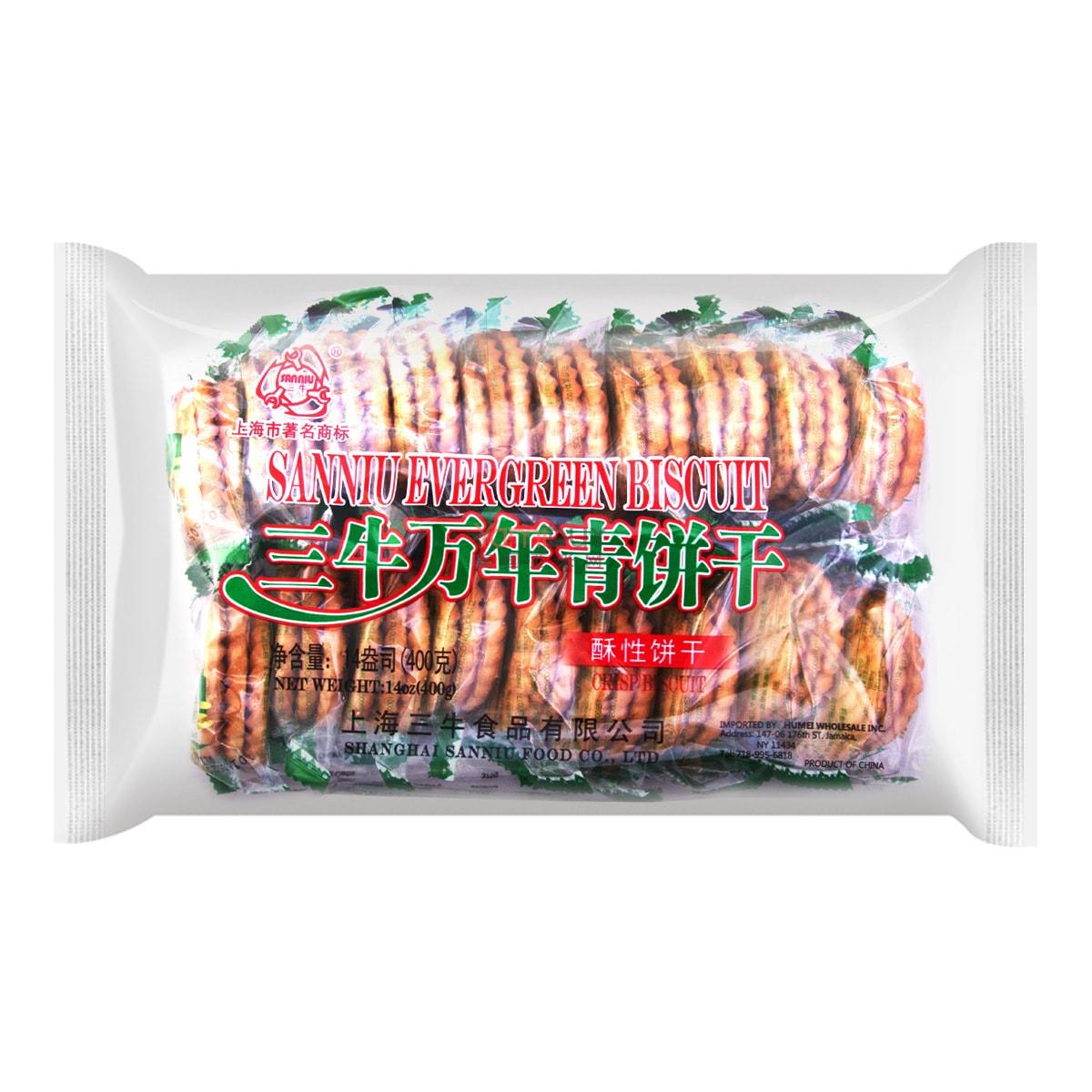 SanNiu Evergreen Biscuit 400g