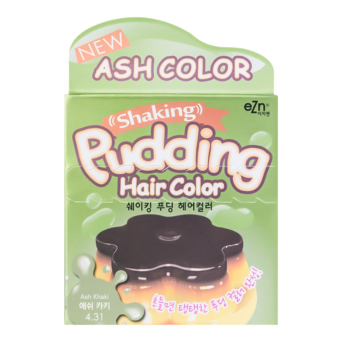 DONGSUNG PHARM EZN Shaking Pudding Hair Color 4.31 Ash Khaki
