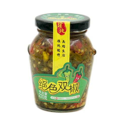 PUCHUN Pickled Red Chilli And Green Chilli