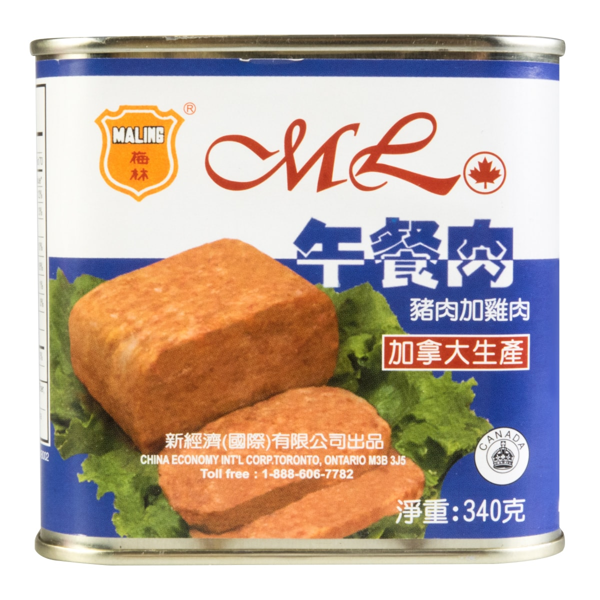 MALING luncheon loaf 340g