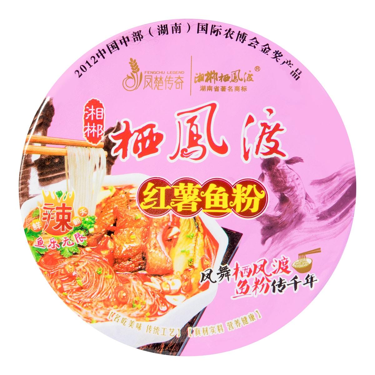 栖凤渡 桶装红薯鱼粉 122g