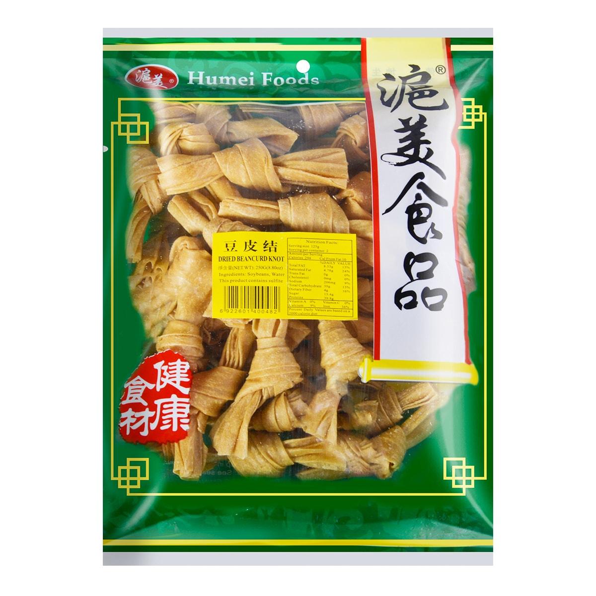 沪美 精选豆皮结 250g