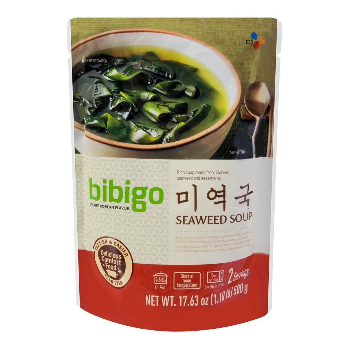 韩国CJ希杰 BIBIGO韩式海带汤 限定款 500g