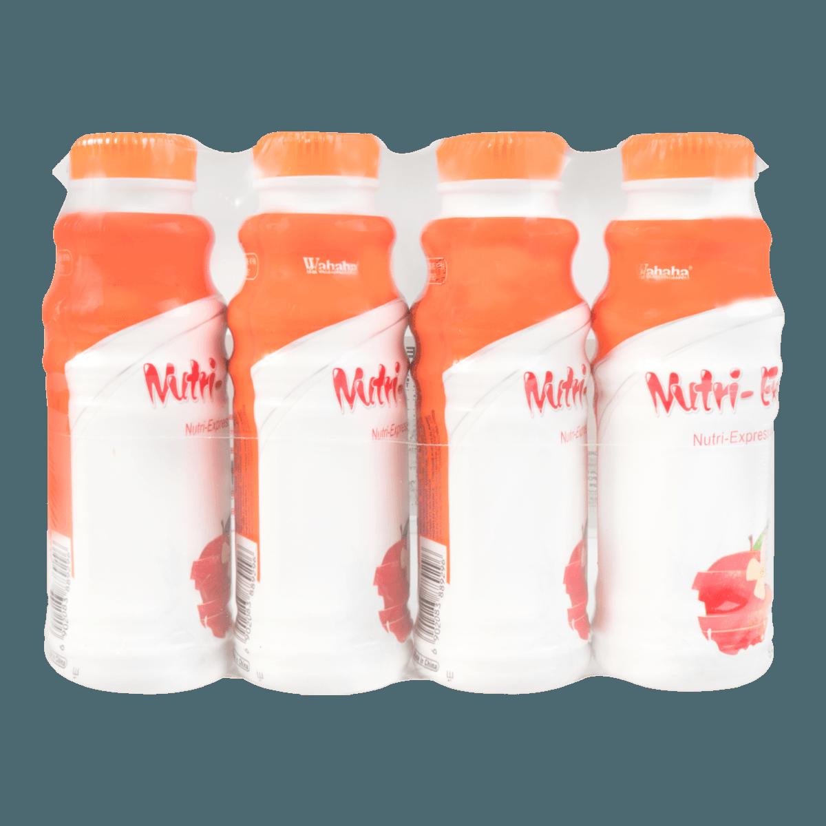 娃哈哈 营养快线 水果牛奶饮品 苹果味 4*280ml