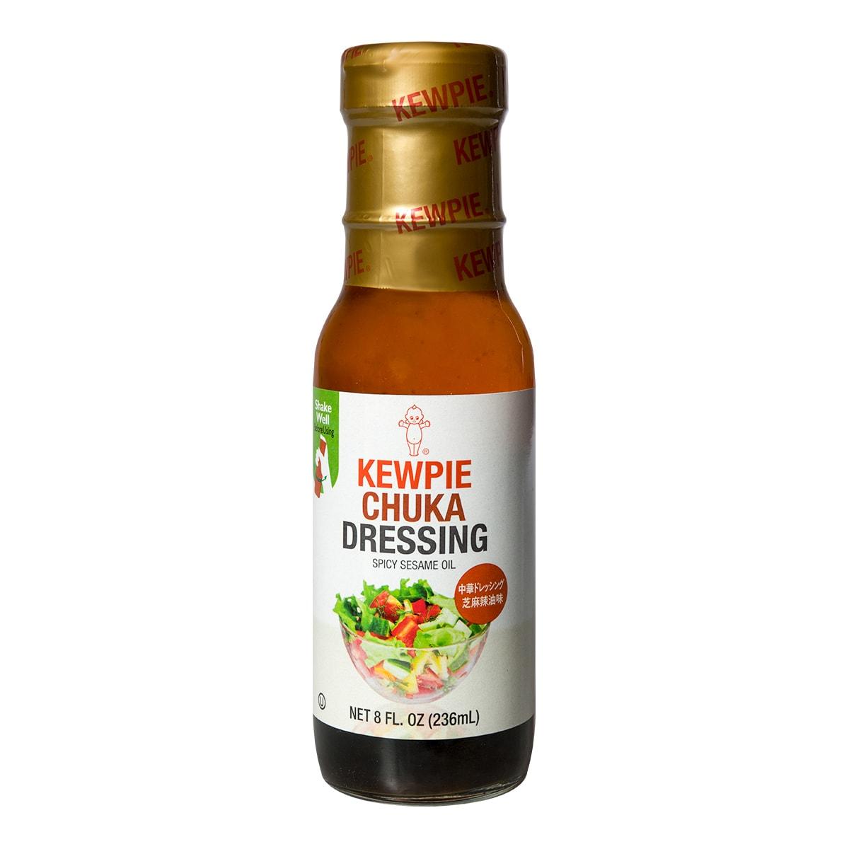 日本KEWPIE丘比 沙拉汁 华风芝麻辣油味 236ml