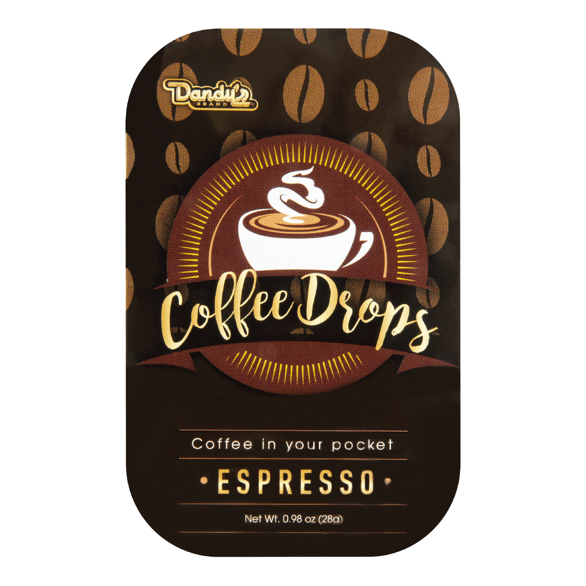 DANDY Coffee Drops-Espresso 28g