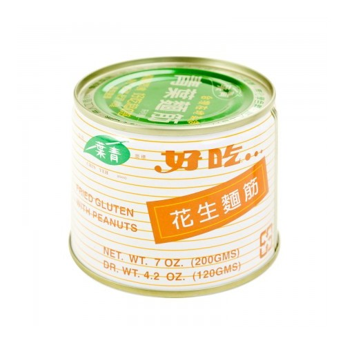 CHIN YEN Fried Gluten With Peanuts 200g