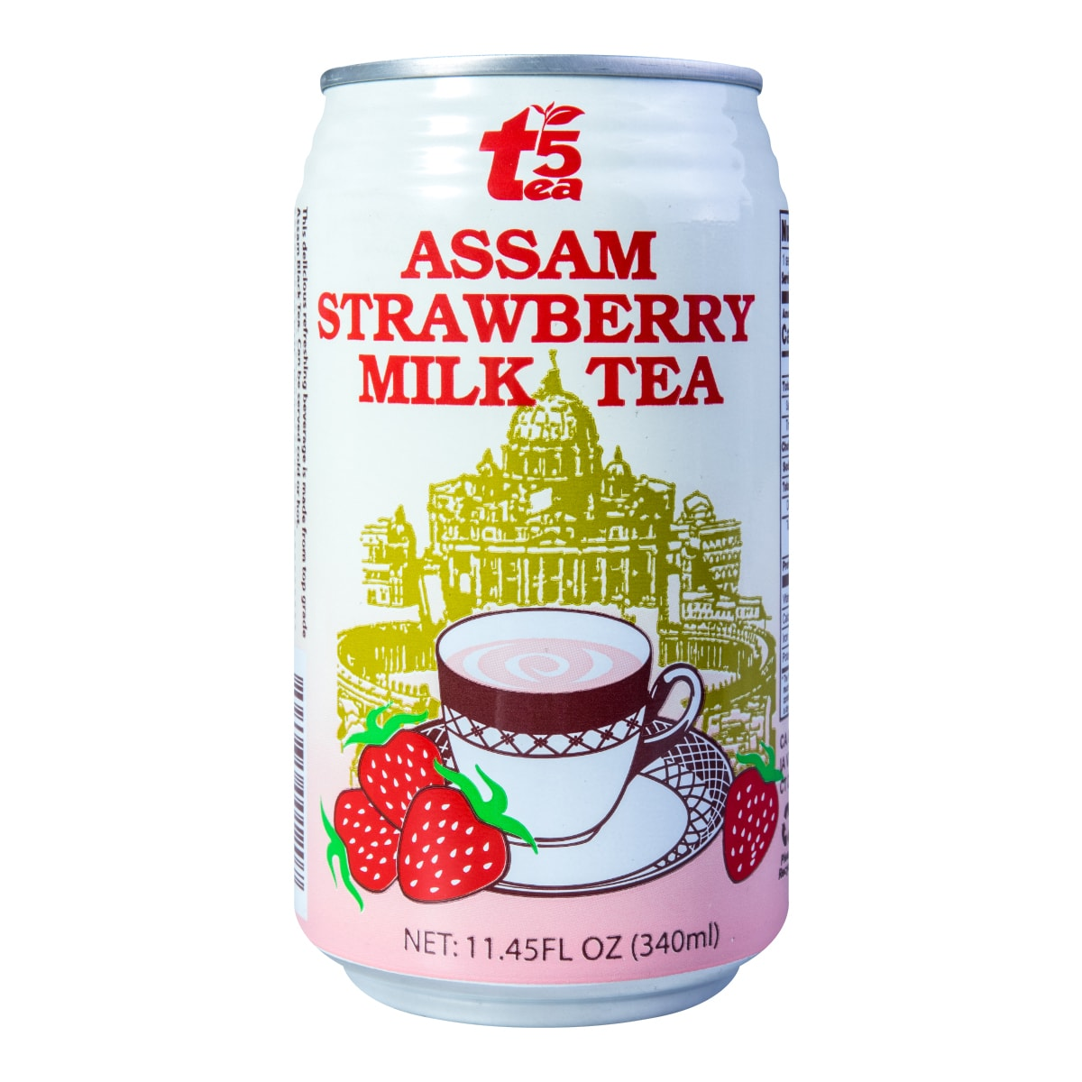 TEA5 Assam Strawberry Milk Tea 340ml