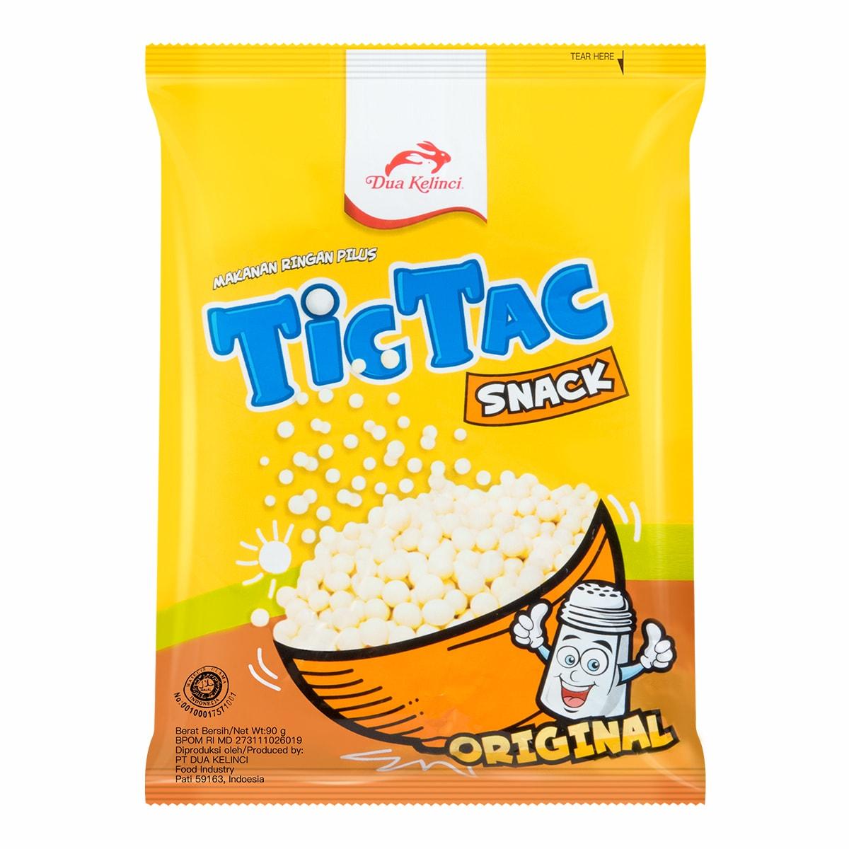 DUA KELINCI TicTac Snacks Original 90g