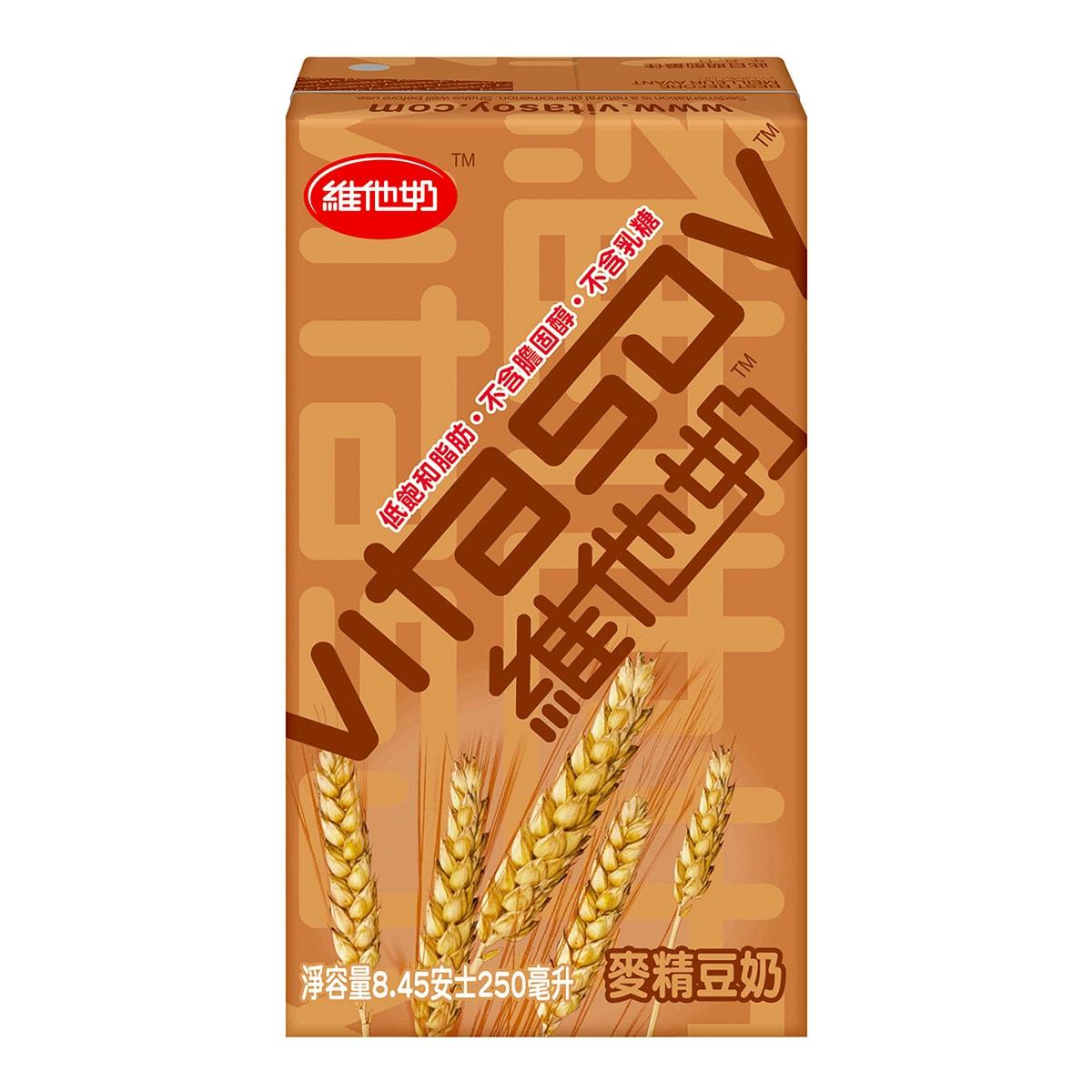 香港VITASOY维他奶 麦精豆奶饮品 250ml