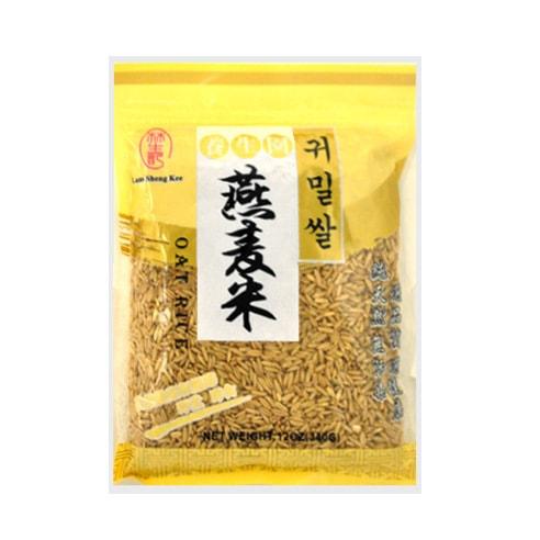 台湾林生记 纯天然燕麦米 340g