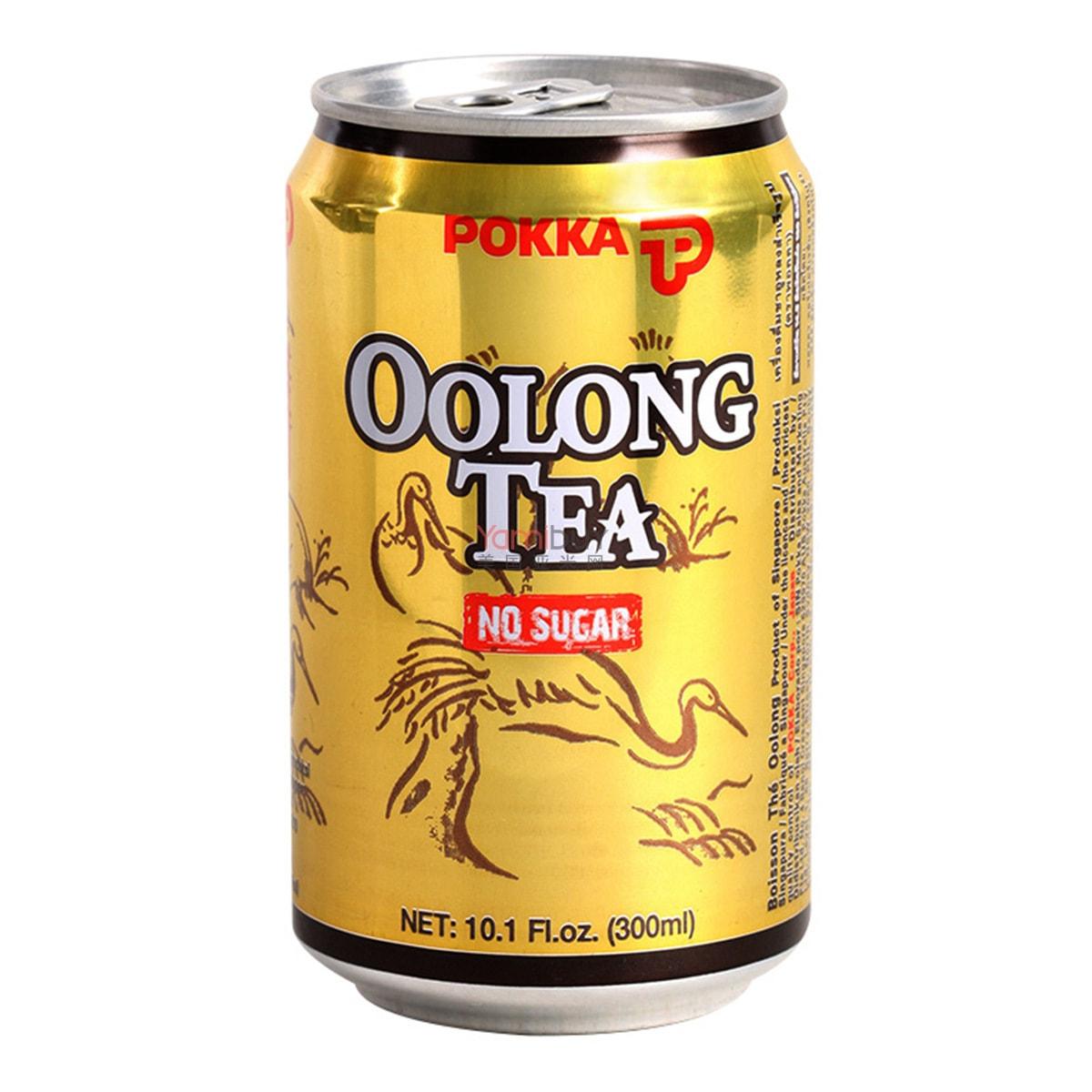 日本POKKA SAPPORO 无糖乌龙茶 罐装 300ml