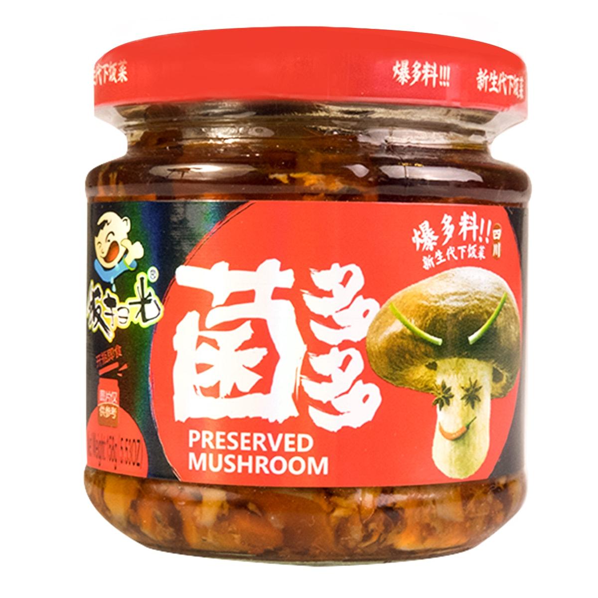 四川高福记 饭扫光爆炒菌片 菌多多 158g