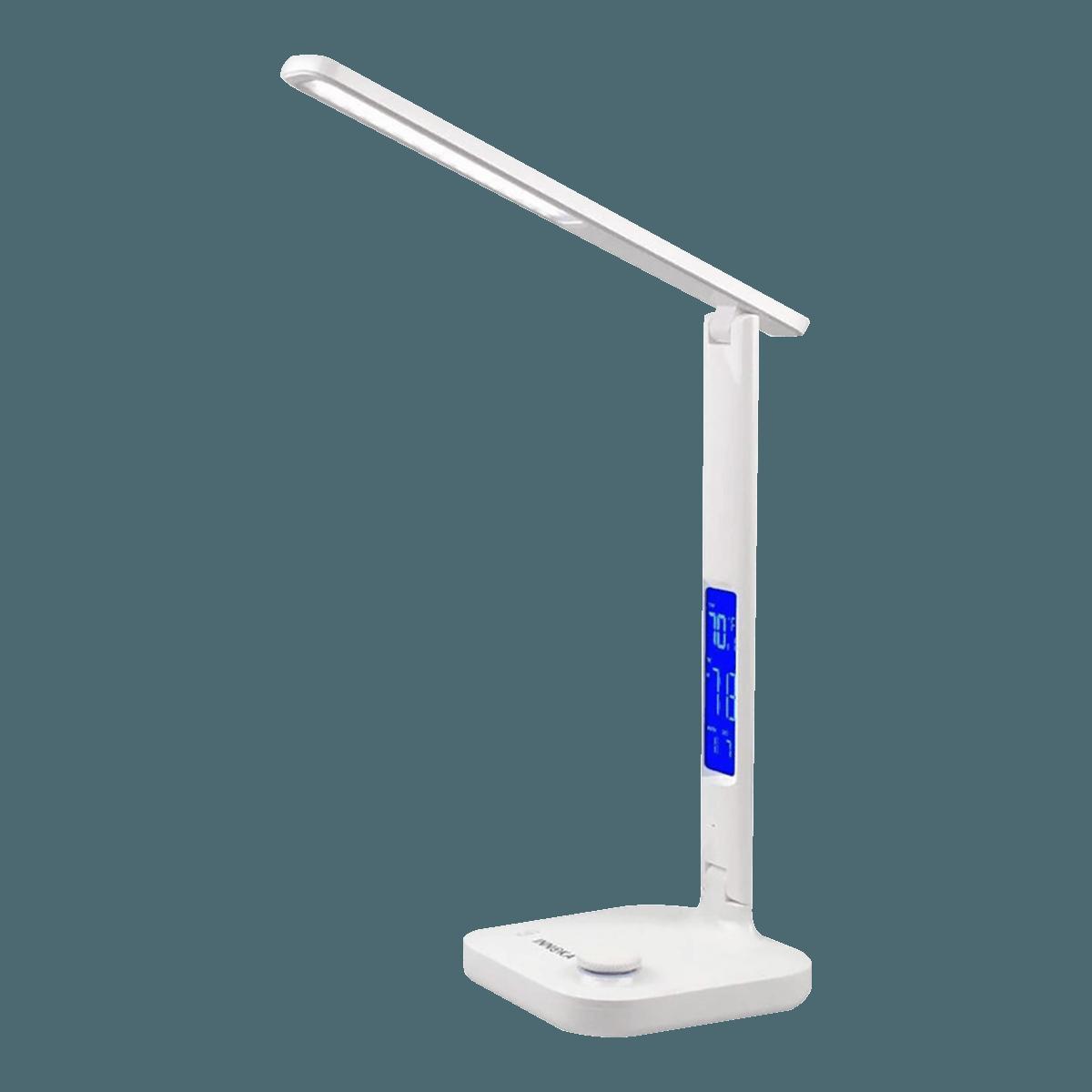 美国INNOKA 180°可调整充电式护眼LED台灯 #白色