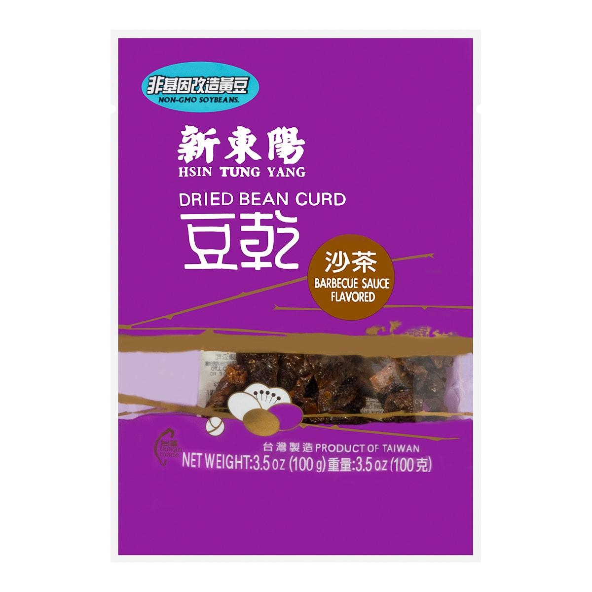 台湾新东阳 沙茶豆干 非基因改造黄豆使用 100g