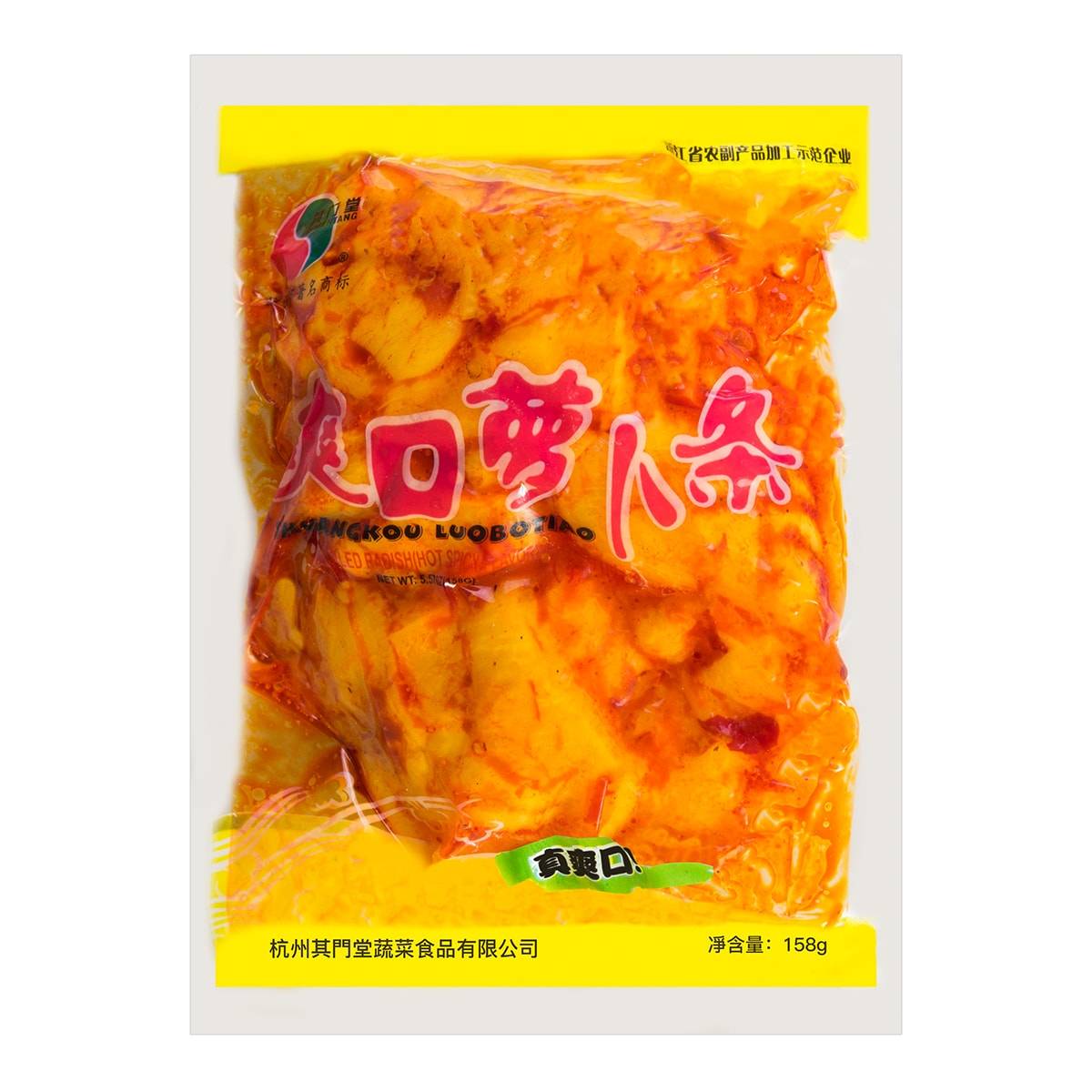 QMT PICKLED RADISH-SPICY 158g