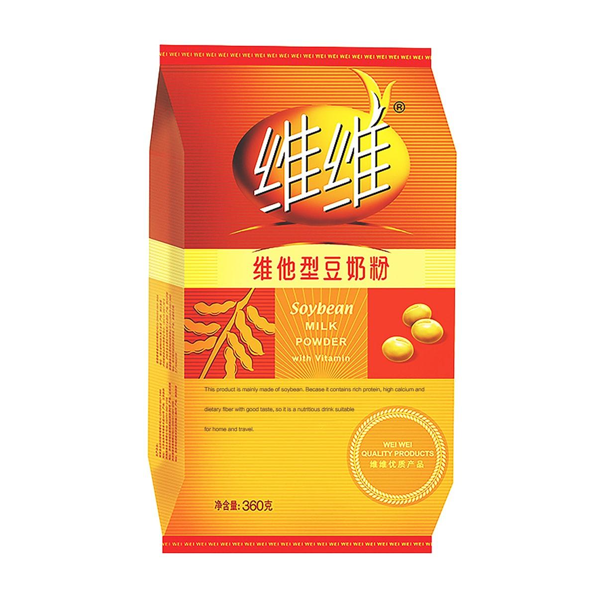 WEIWEI Soybean Milk Powder (Vitamin) 360g