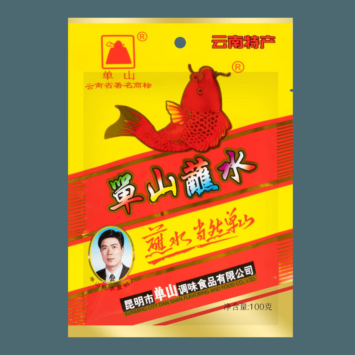 单山 单山蘸水 云南特产 (辣椒面)100g