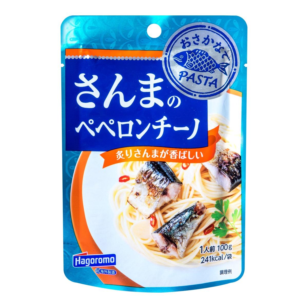 日本HAGOROMO 柠香秋刀鱼意面酱 100g