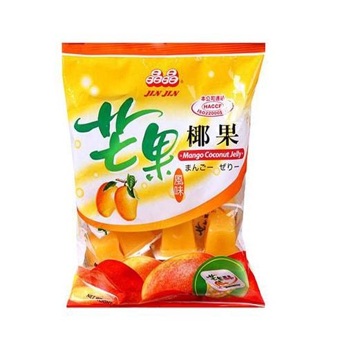 台湾晶晶 芒果椰果风味果冻 400g